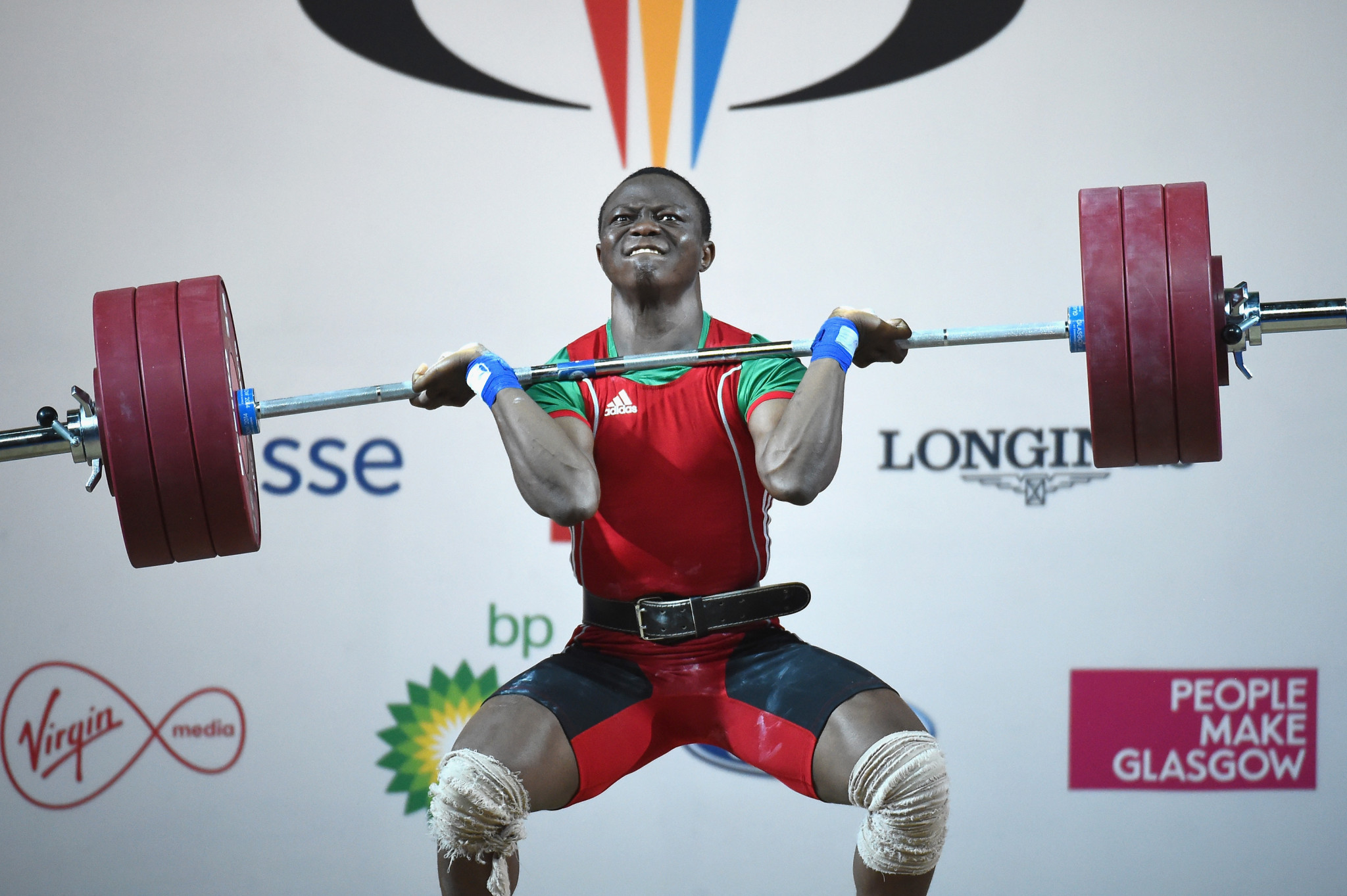 Cyrille Tchatchet will represent the Olympic Refugee Team at Tokyo 2020 after fleeing from Cameroon ©Getty Images