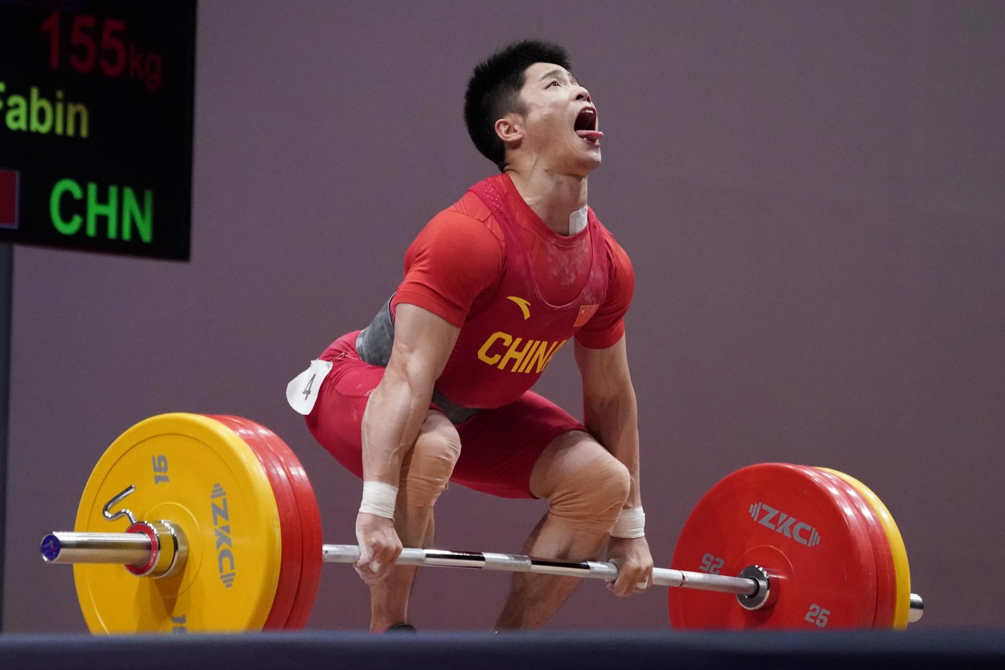 Li Fabin tops the world rankings for 61kg but is only narrowly ahead of nearest rival Indonesia's Eko Yuli Irawan ©Getty Images