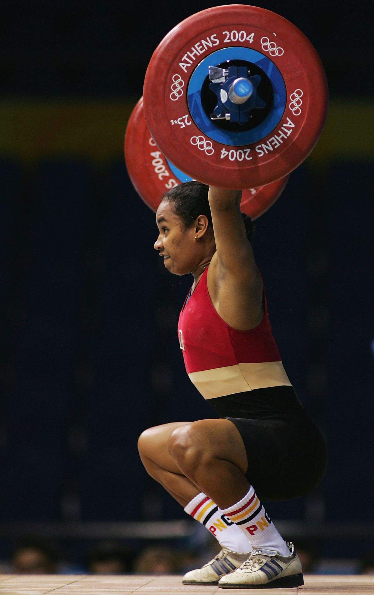 Papua New Guinea's Dika Toua, the first woman to lift in an Olympic weightlifting competition, is set to make her fifth appearance at Tokyo 2020 ©Getty Images
