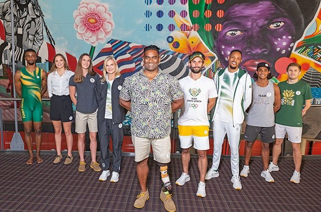 South Africa's kit for Tokyo 2020, produced by local company Mr Price Sport, has been unveiled ©Mr Price Sport