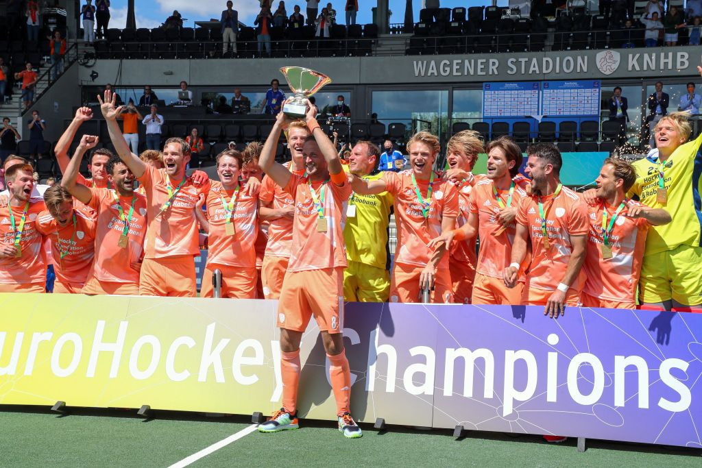 The Netherlands beat Germany in shootout to regain Men's EuroHockey Championship title