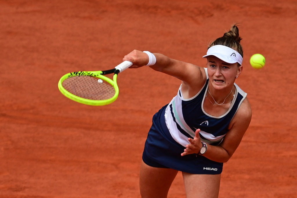 Barbora Krejčíková claimed a three-set victory over Russian Anastasia Pavlyuchenkova to seal the French Open crown ©Getty Images