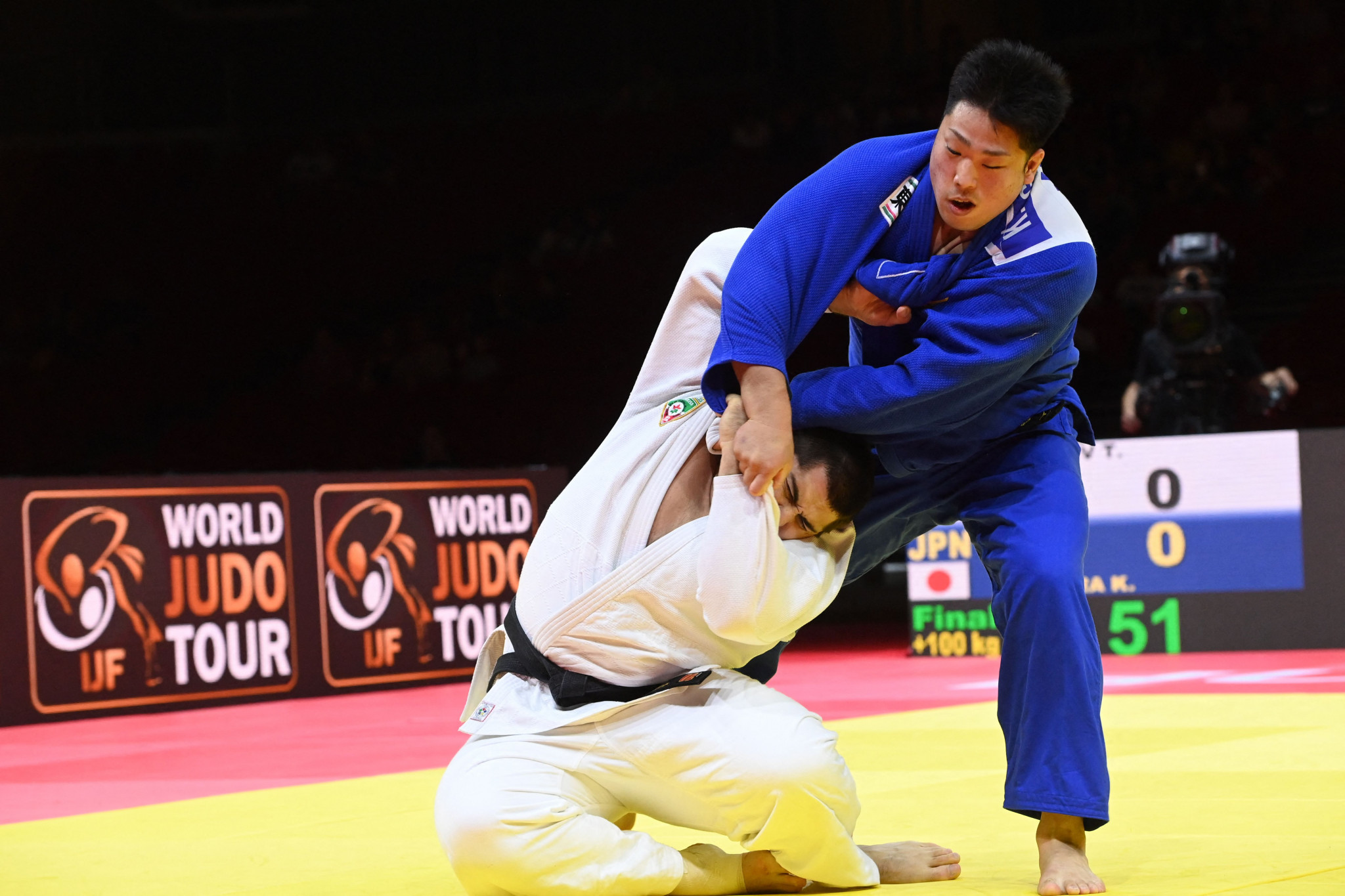 Kageura crowned world champion for first time at IJF World Judo Championships