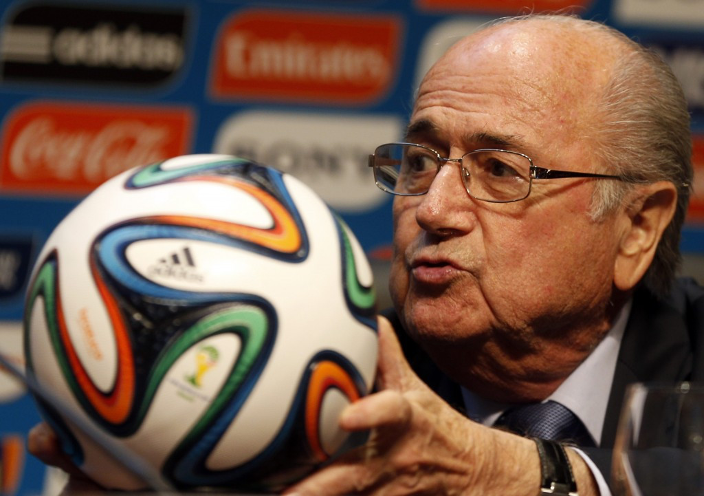 There has been no suggestion that Adidas will end its relationsip with FIFA, despite the scandals which have rocked the organisation, leading to the suspension of President Sepp Blatter ©Getty Images
