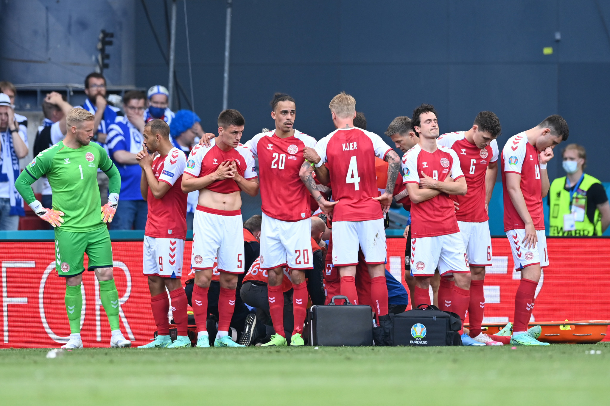 Finland beat Denmark as Euro 2020 match is completed following suspension due to medical emergency