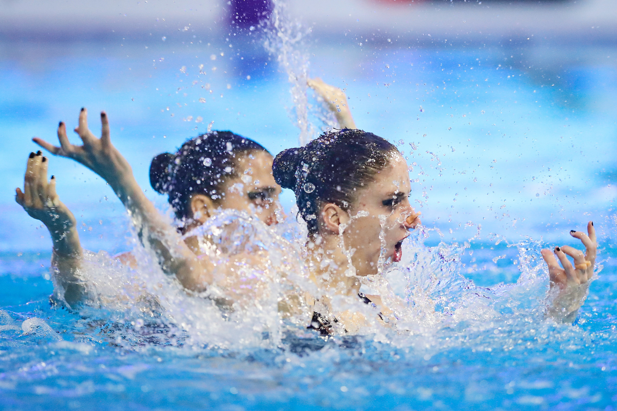 Austria top qualifiers for duet final at Artistic Swimming Olympic Games Qualifying Tournament