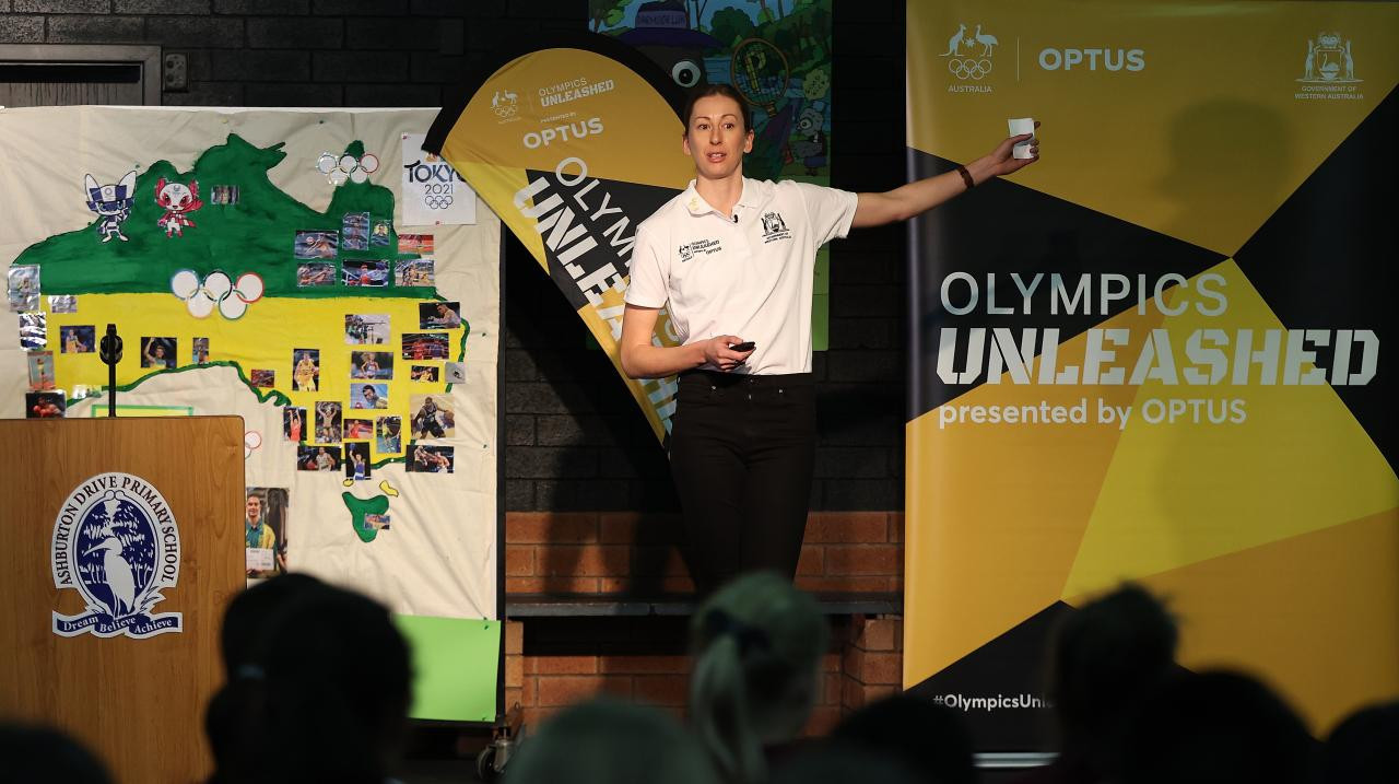 Olympics Unleashed has been launched in Western Australia by the Australian Olympic Committee ©AOC