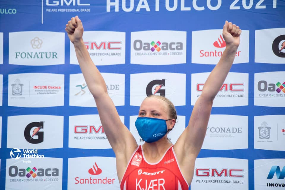 Pedersen claims first Triathlon World Cup victory to boost Tokyo 2020 hopes