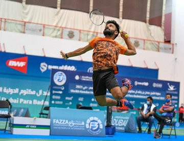 India's newly-selected Nagar targets Paralympic badminton gold in Tokyo