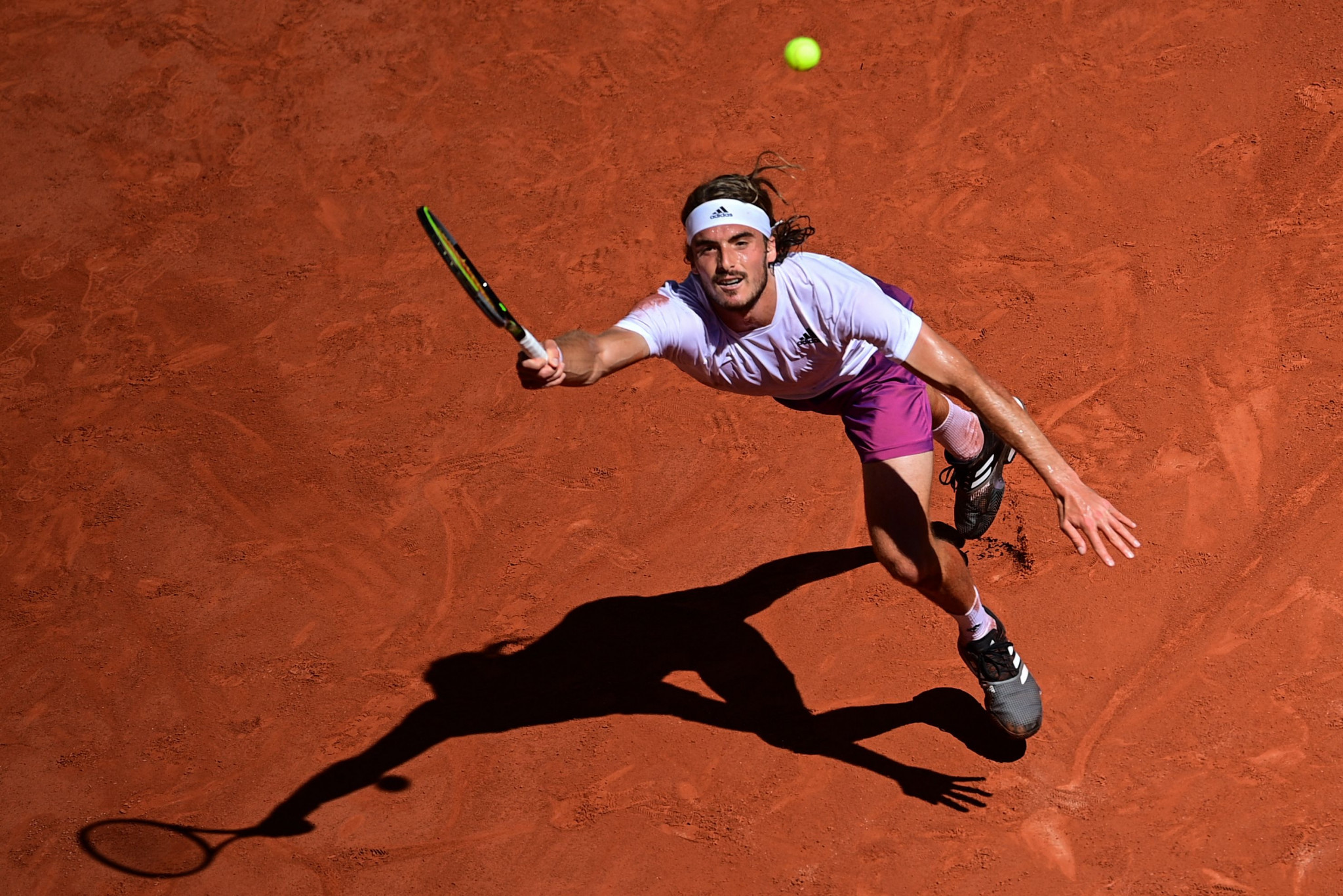 Stefanos Tsitsipas held a two-set lead but was unable to finish the job as Novak Djokovic stormed from behind to win ©Getty Images
