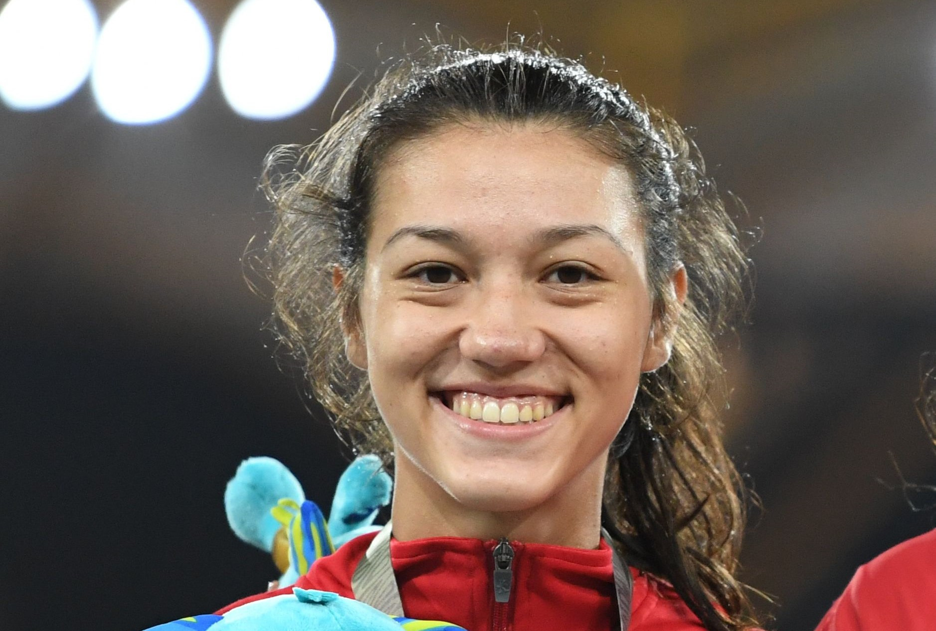 Zheng Ninali won the heptathlon in Arona ©Getty Images