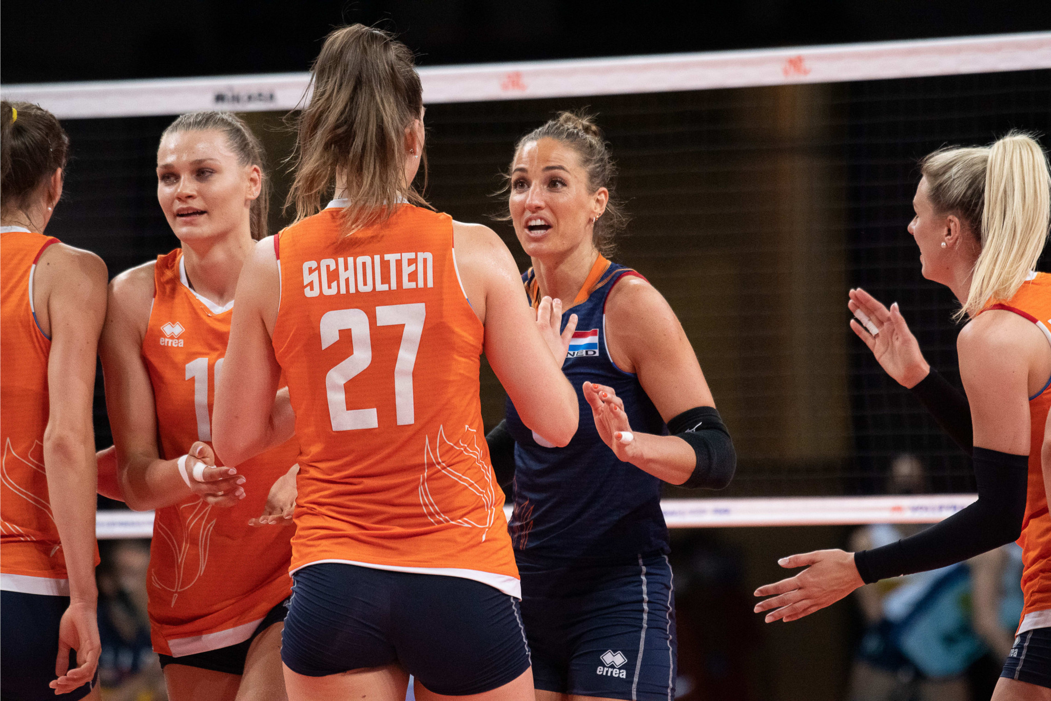 Dutch into women's Volleyball Nations League top four as US remain undefeated