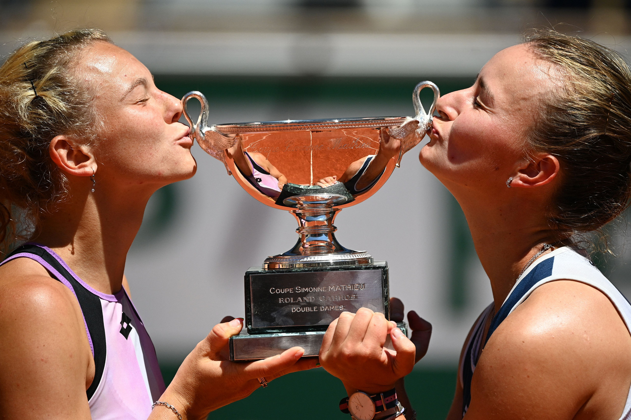 Whereas Krejčíková was unseeded yesterday, the Czech duo were seeded second and also won the French Open in 2018 ©Getty Images
