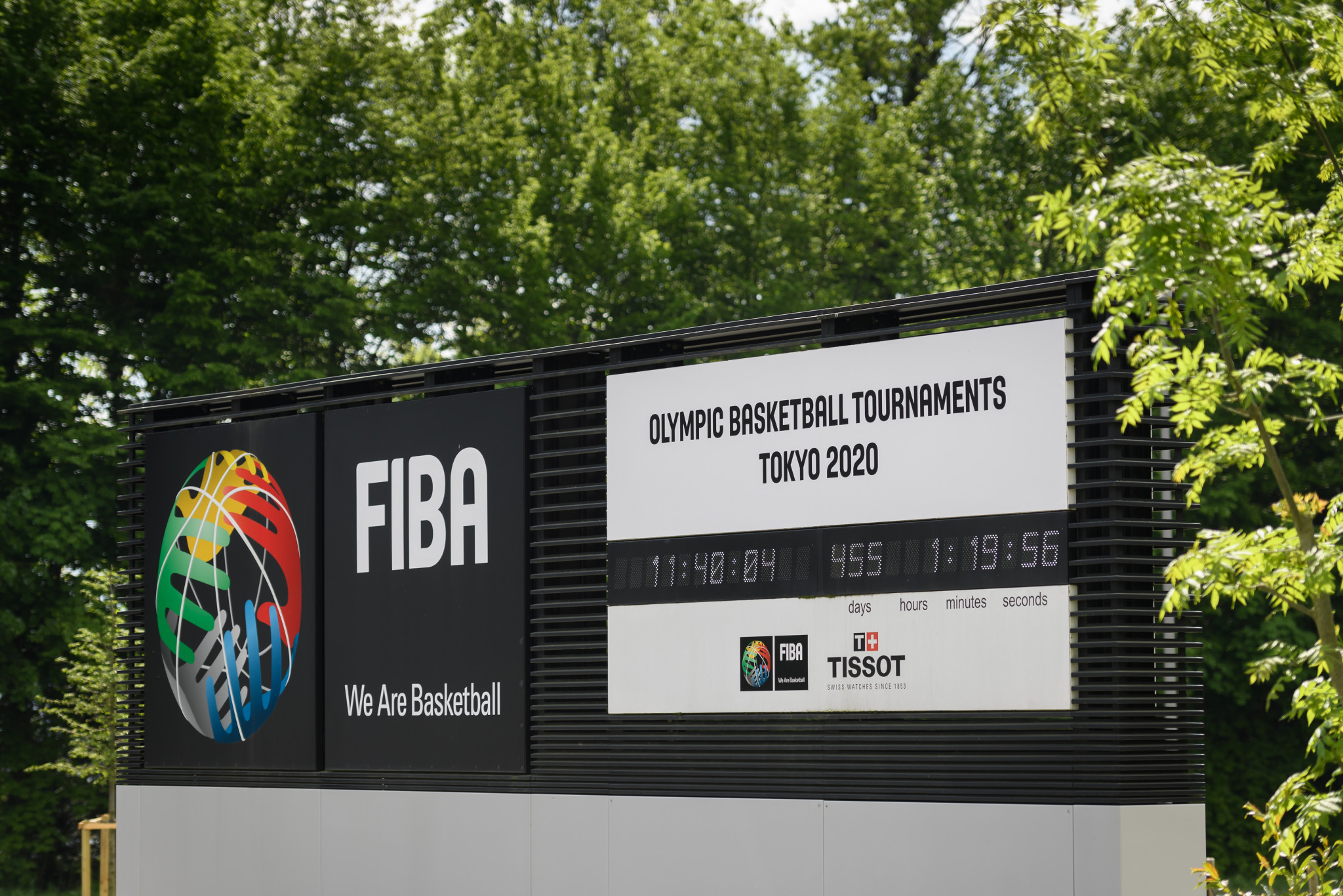 The allegations levelled at FIBA President Hamane Niang come with just over a month to go until the Olympics are due to open ©Getty Images