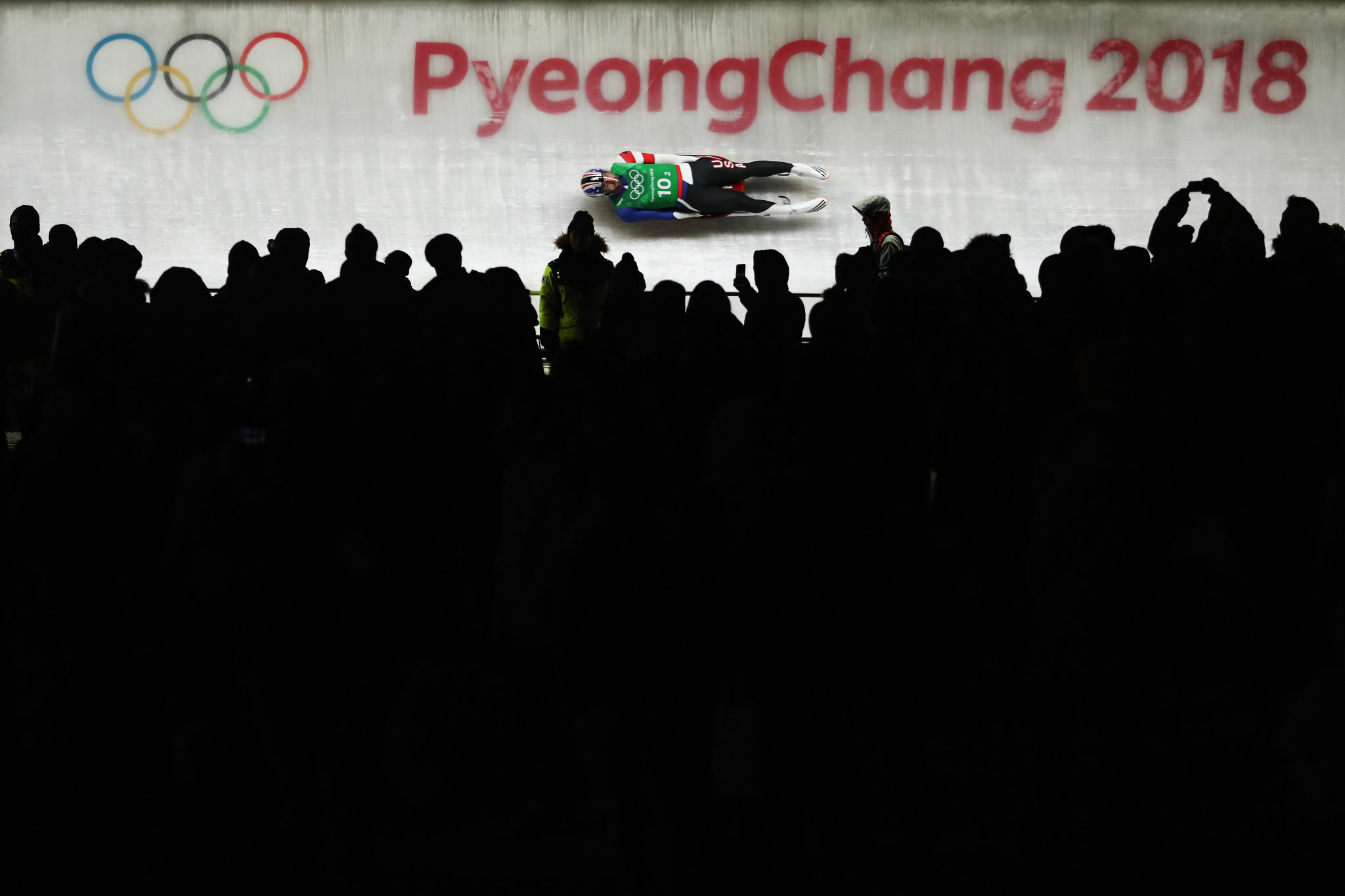Young athletes tried luge on the same course that hosted the Olympics ©Getty Images