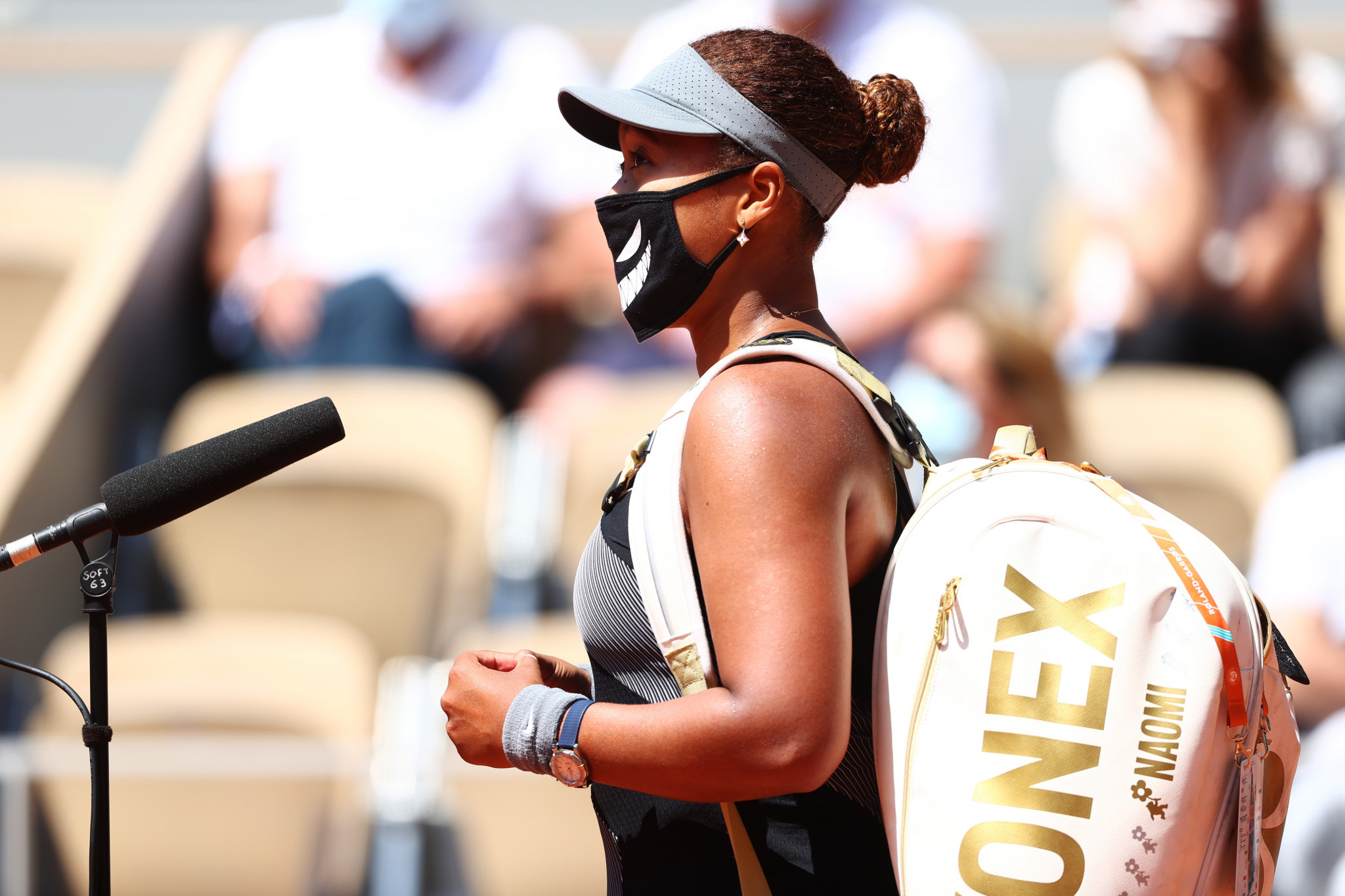 There are doubts over whether Naomi Osaka will participate at Wimbledon after pulling out of the French Open and this week's grass-court event in Berlin ©Getty Images