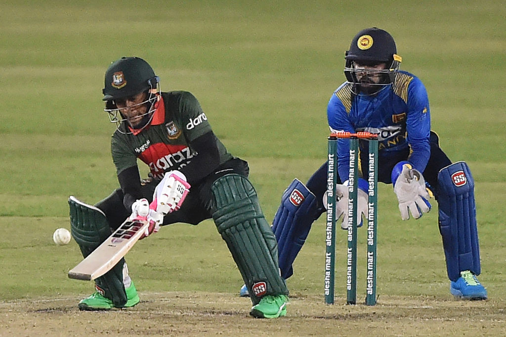 Mushfiqur Rahim earned the men's award for his performances in Bangladesh's ODI series with Sri Lanka ©Getty Images