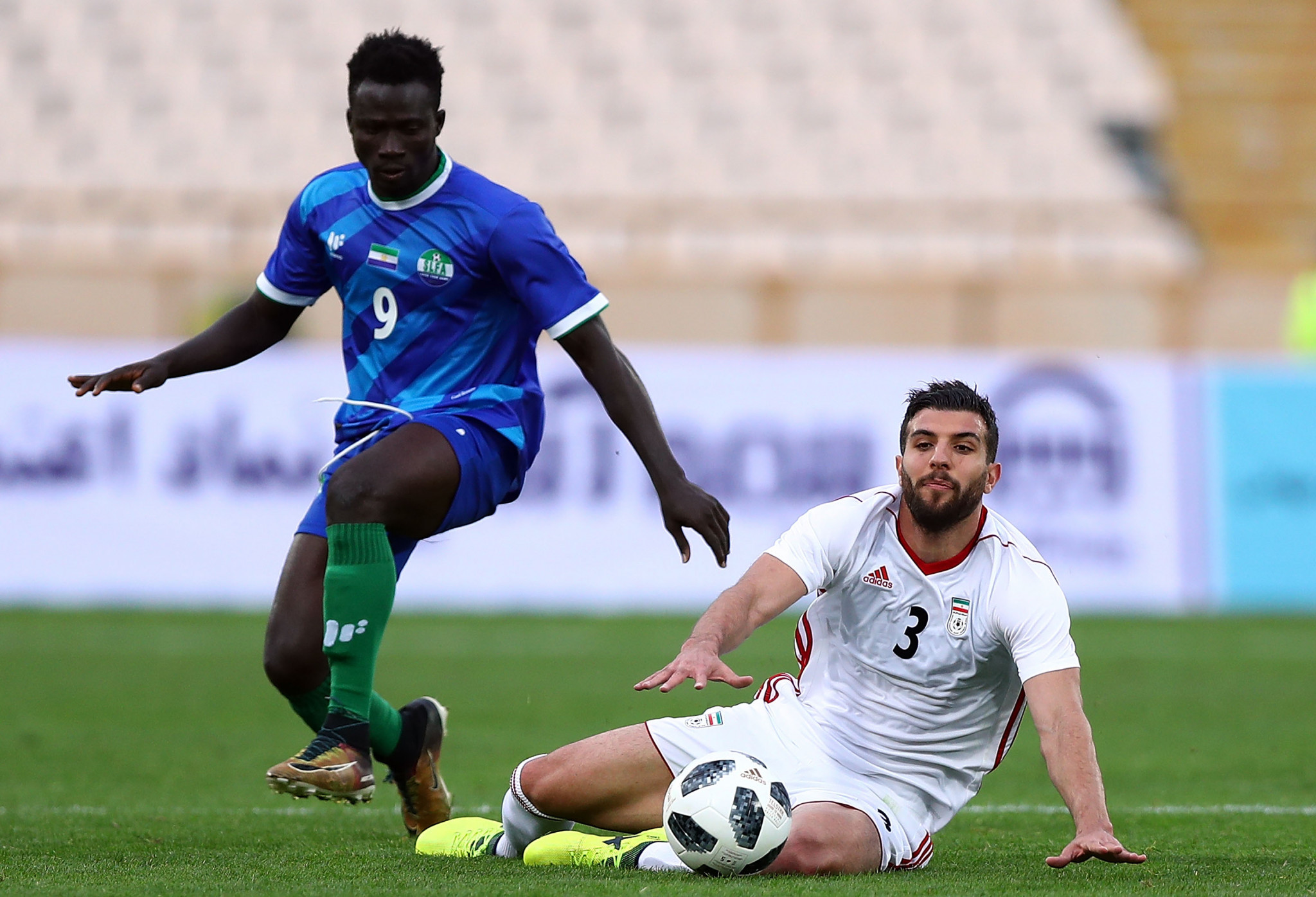 Sierra Leone are due to face Benin in the final Africa Cup of Nations qualifier ©Getty Images