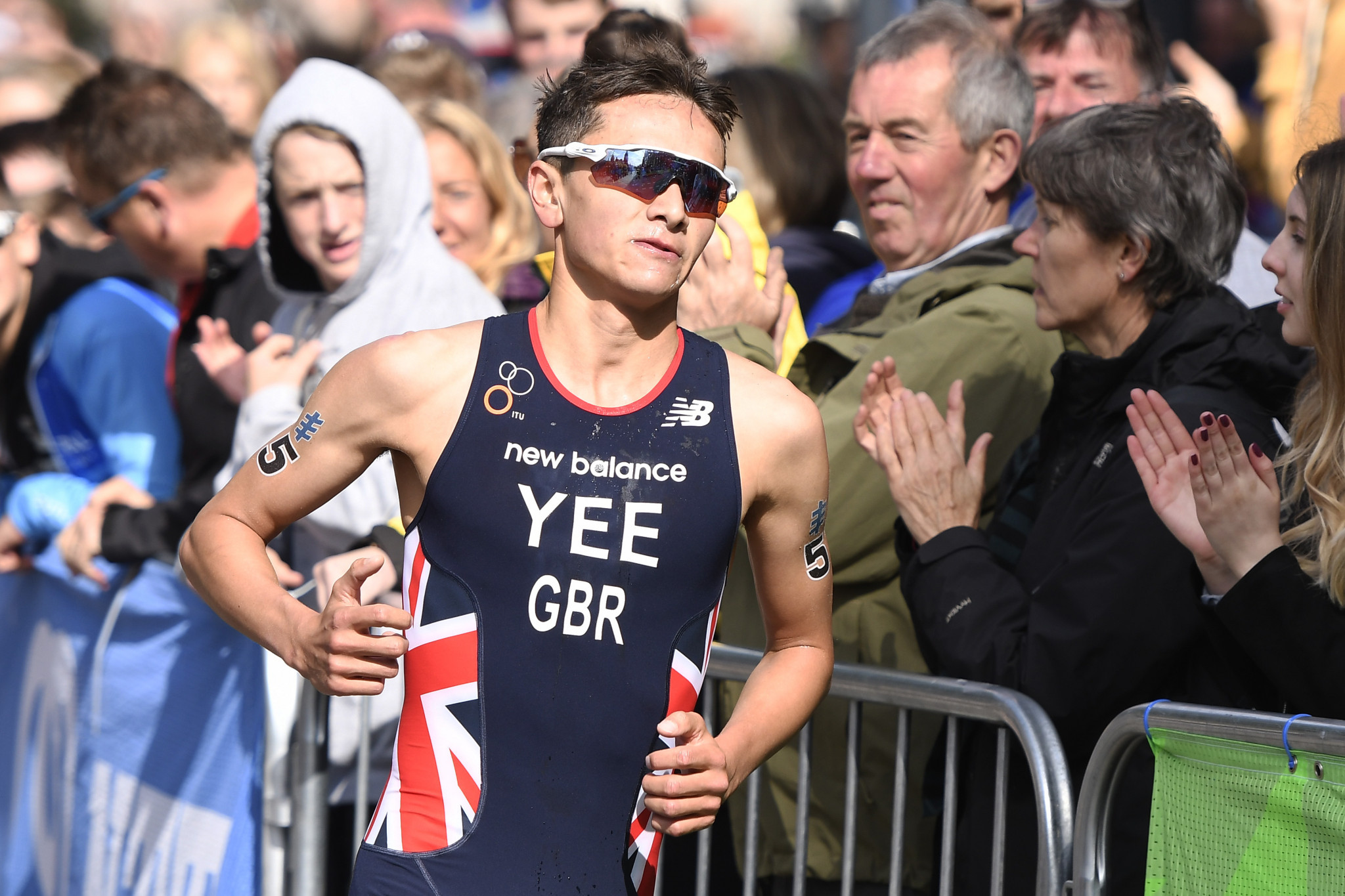 Alex Yee has been given Britain's other spot in the men's triathlon at Tokyo 2020 and will take his place alongside Alistair Brownlee's brother Jonny ©Getty Images