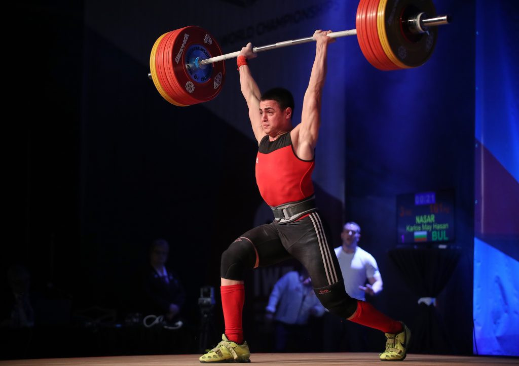 Bulgaria's 16-year-old Karlos Nasar raised suspicions recently when he came within a kilogram of the senior world record in the 81kg category ©IWF