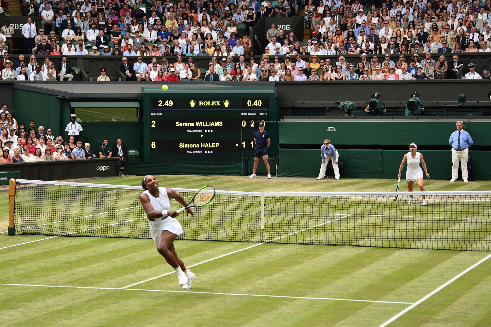 Wimbledon is set to operate at 25 per cent capacity when it starts on June 28 ©Getty Images