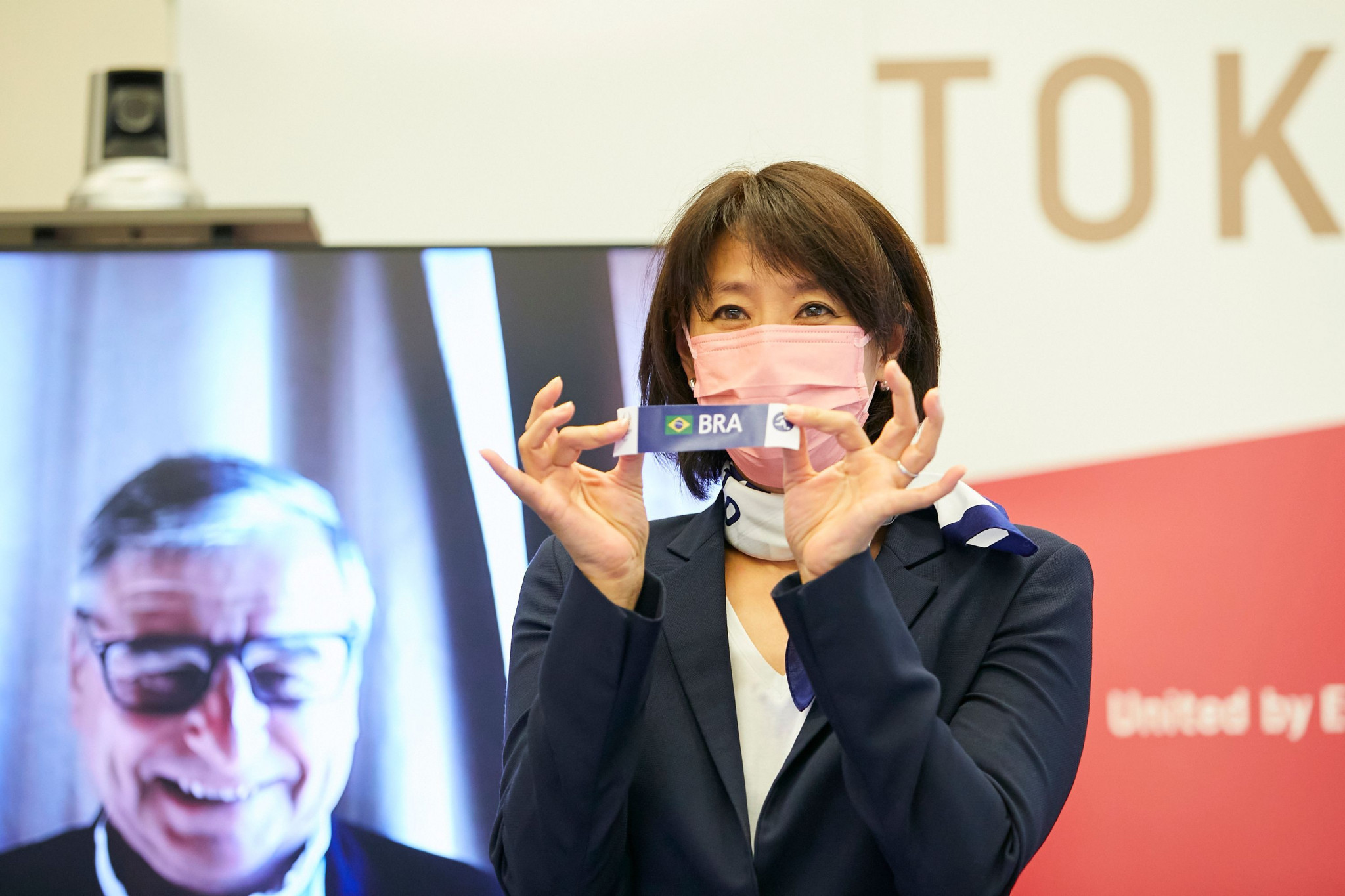Tokyo 2020 hold draw for blind football tournament at Paralympic Games