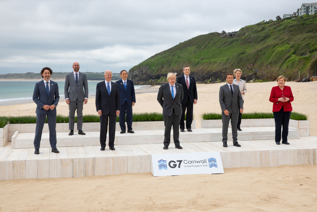 """The G7 expressed support for the Tokyo 2020 Olympics being """"safe and secure"""" - but the Games were only mentioned in the last sentence of the communique ©Getty Images"""
