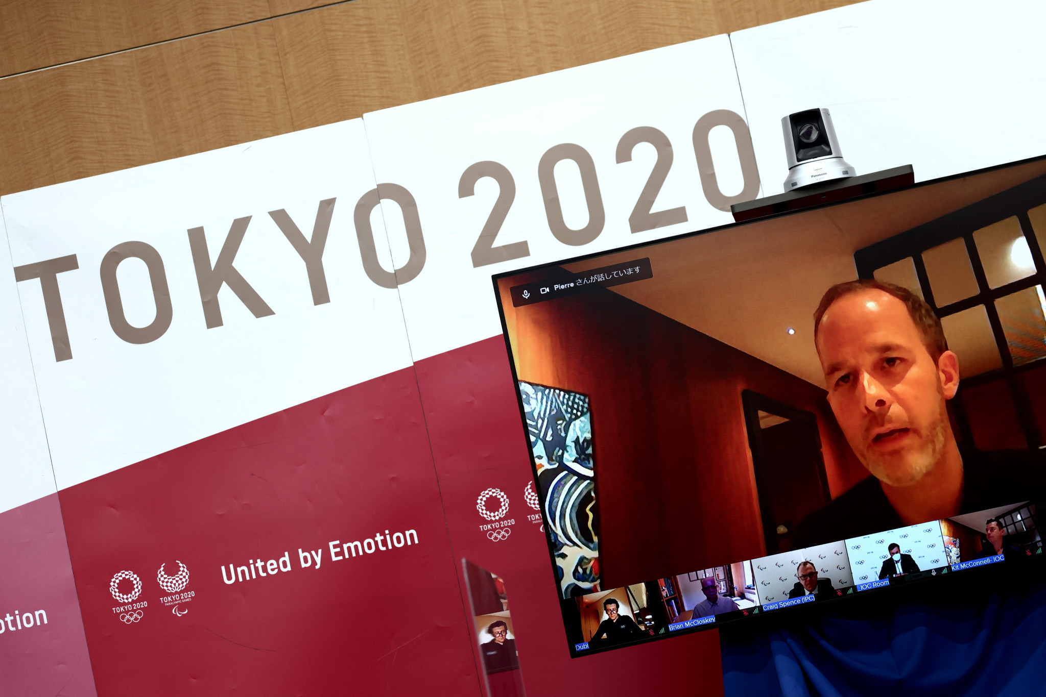 Pierre Ducrey, Olympic Games operations director for the IOC, was speaking at a press conference following the release of the playbook ©Getty Images