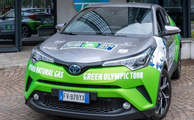 Toyota driving car from Milan and Cortina d'Ampezzo to Tokyo 2020 and back again to showcase technology