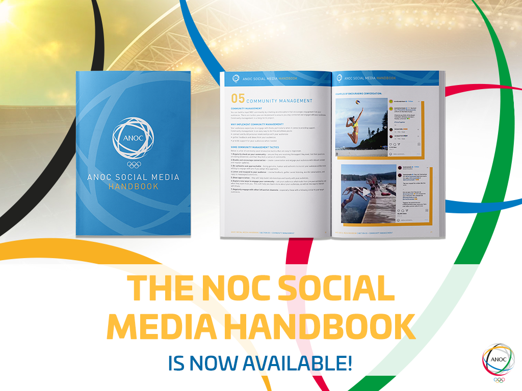 ANOC has launched initiatives such as the Social Media Handbook to improve the performance of NOCs ©ANOC