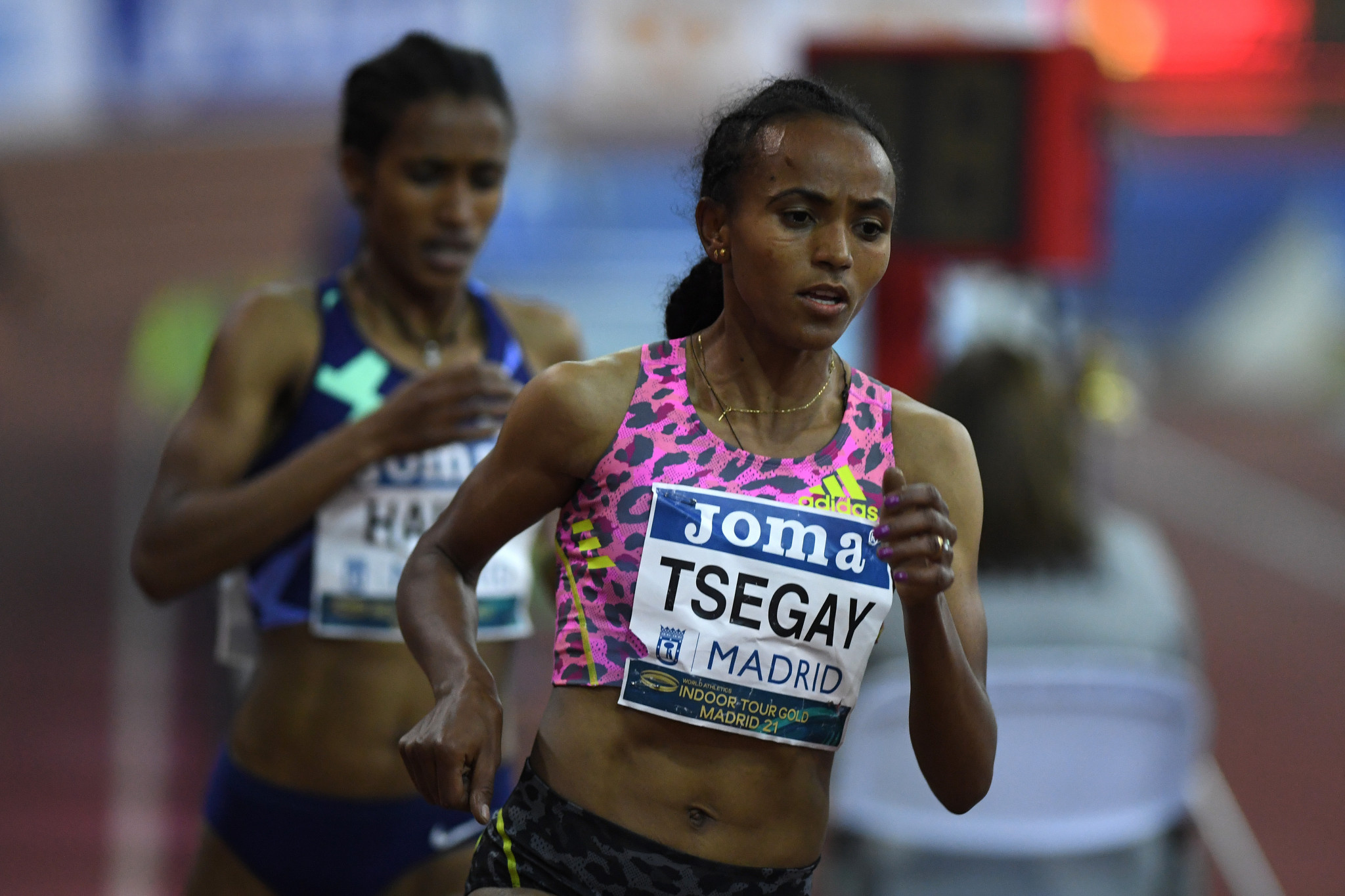 Gudaf Tsegay broke the women's 1500m world record earlier this year ©Getty Images