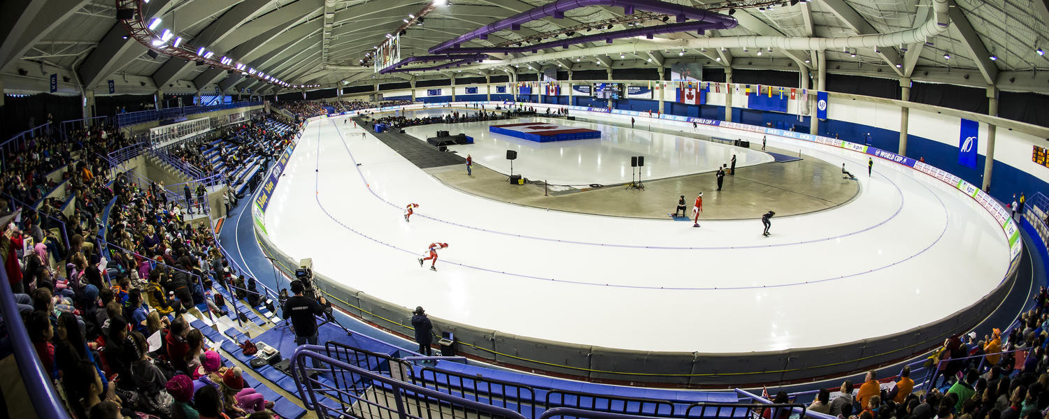 Canadian speed skaters able to train on ice again as Olympic Oval reopens