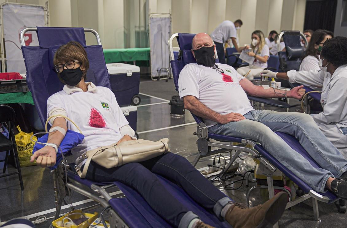 COB arranges blood drive at headquarters to mark World Blood Donor Day