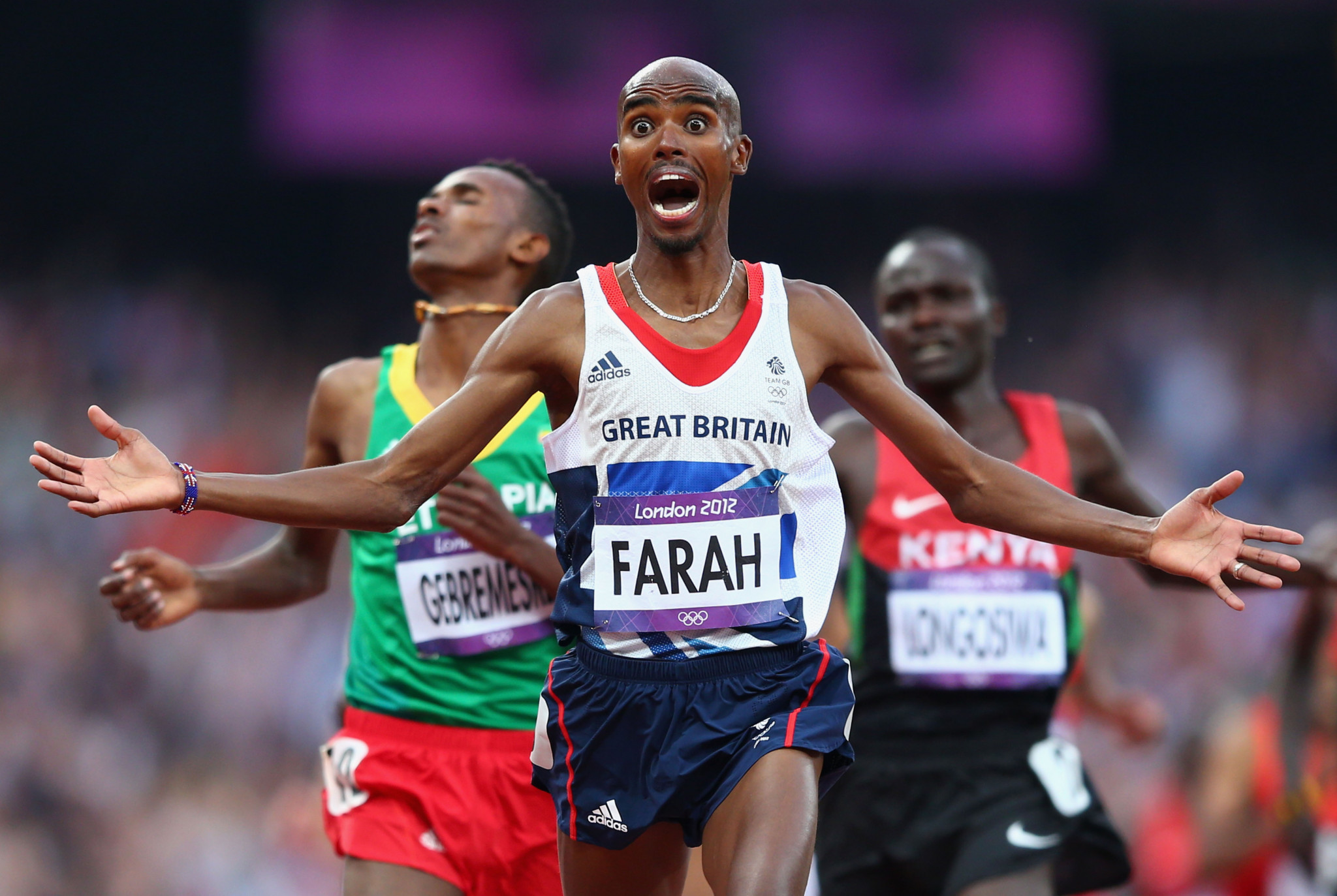 Sir Mo Farah is a four-time Olympic champion ©Getty Images