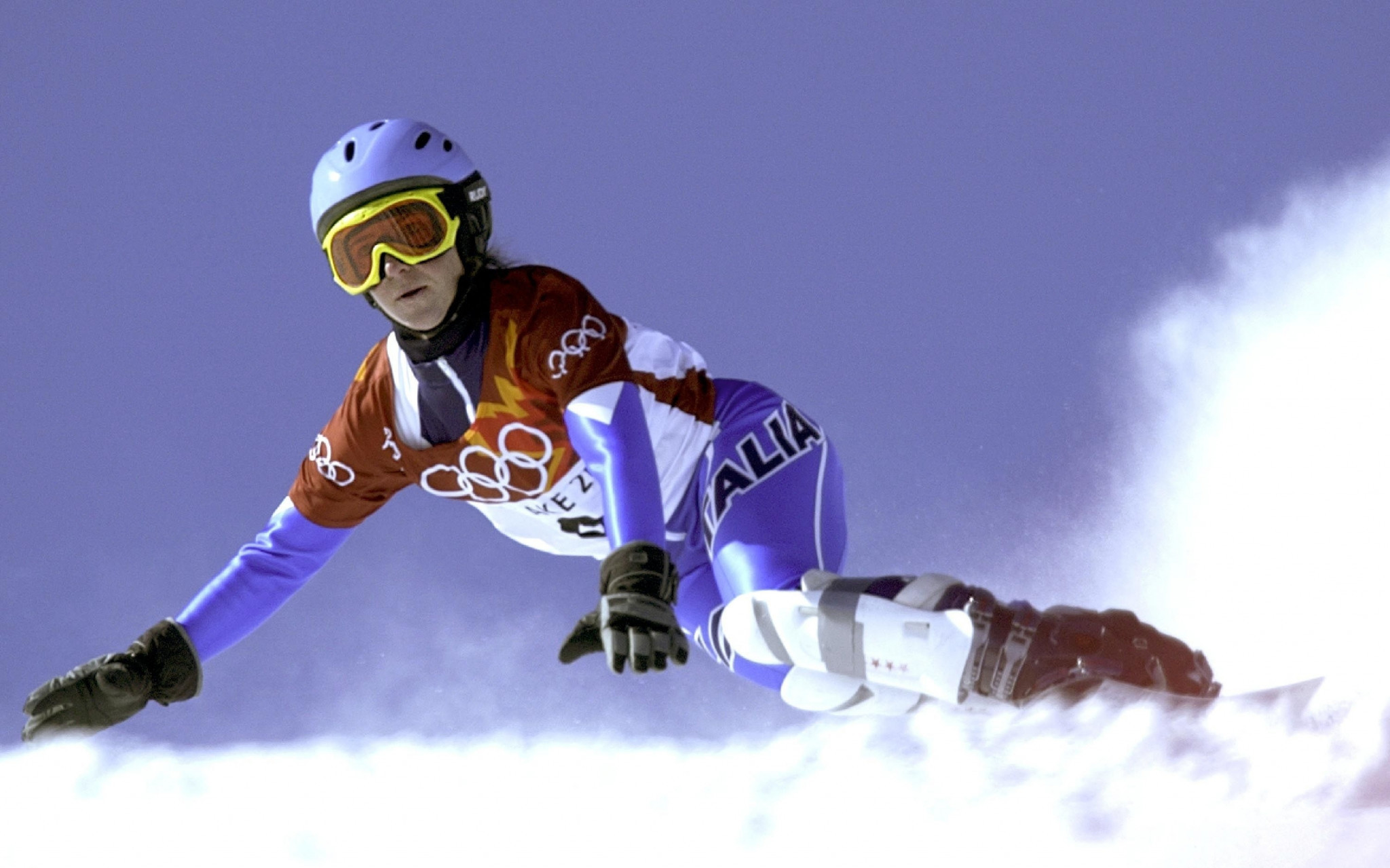 Lidia Trettel won Italy's sole Olympic ALpine snowboard medal in 2002  ©Getty Images