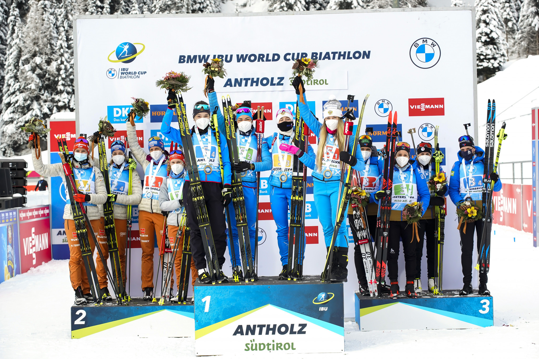 Antholz is a regular host of IBU World Cup competitions. ©Getty Images