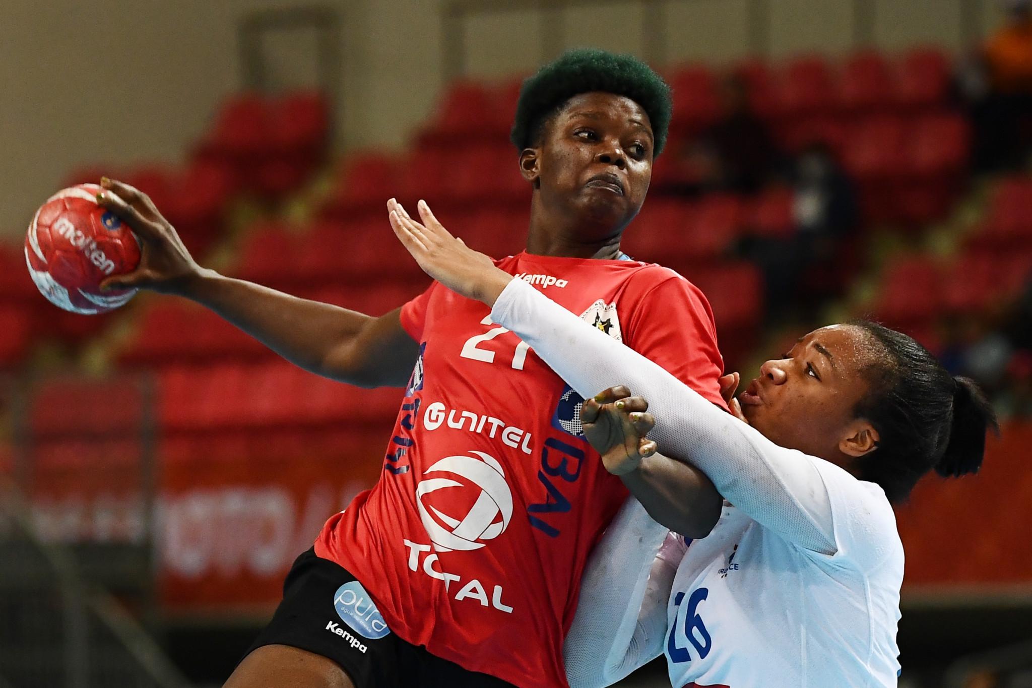 Holders Angola advance at African Women's Handball Championship
