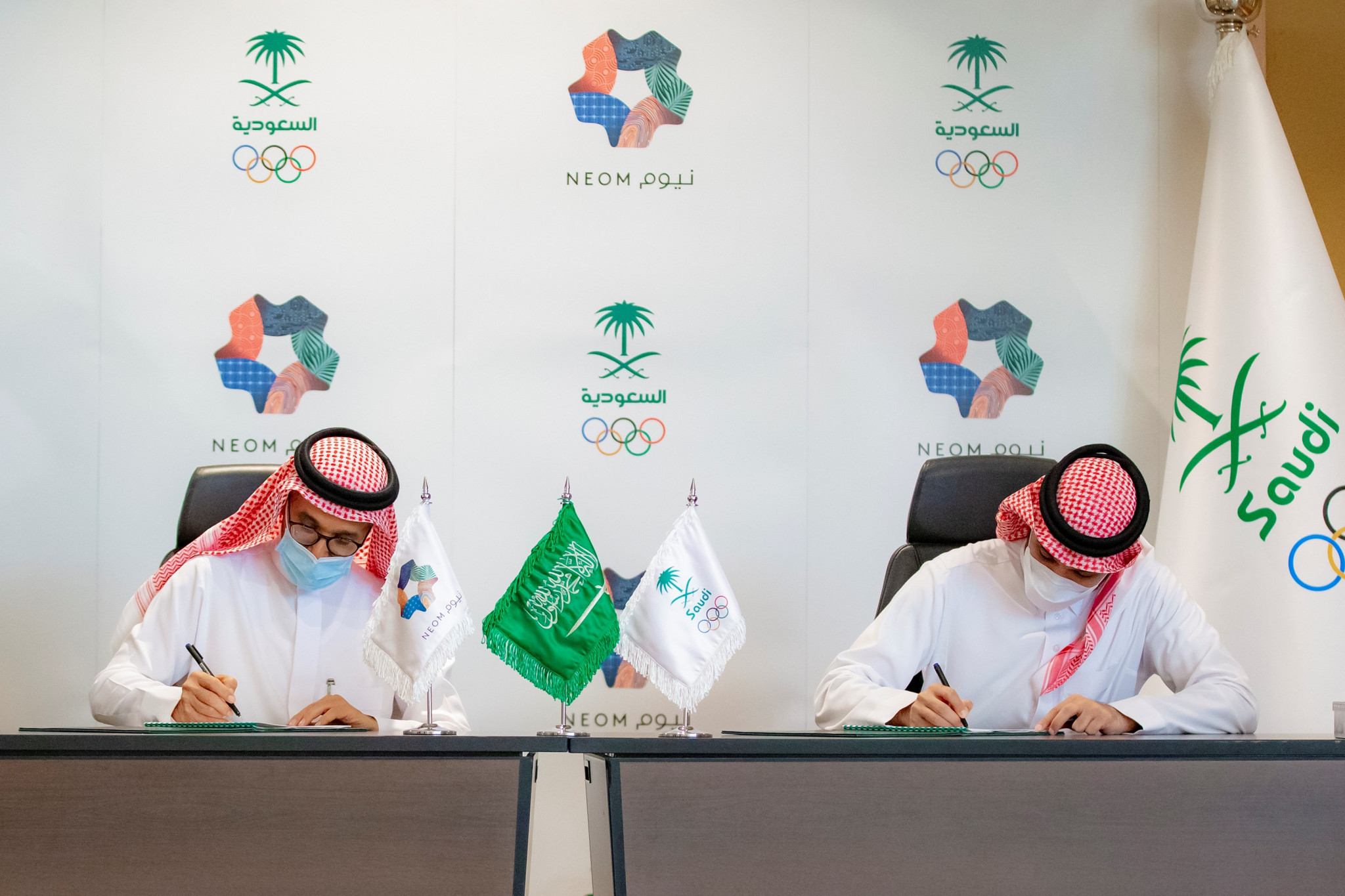 The Saudi Arabian Olympic Committee and Neom have signed a Memorandum of Understanding to develop sport in the country ©SAOC