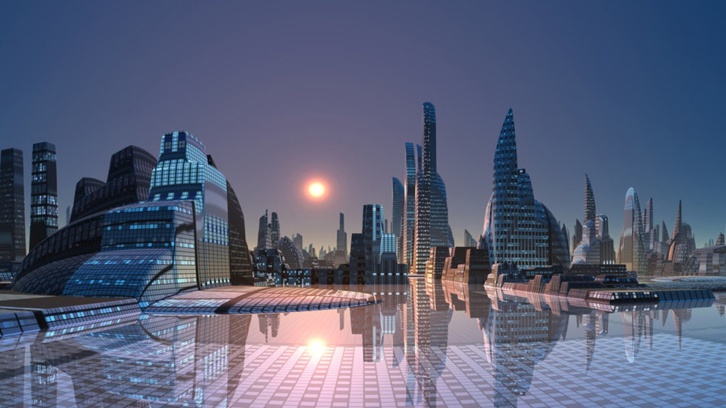 Neom is imagined as a $500 billion city of the future ©Neom