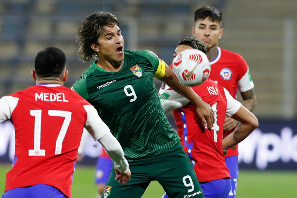 Bolivia's Marcelo Martins faces disciplinary action after criticising CONMEBOL's staging of the Copa América ©Getty Images
