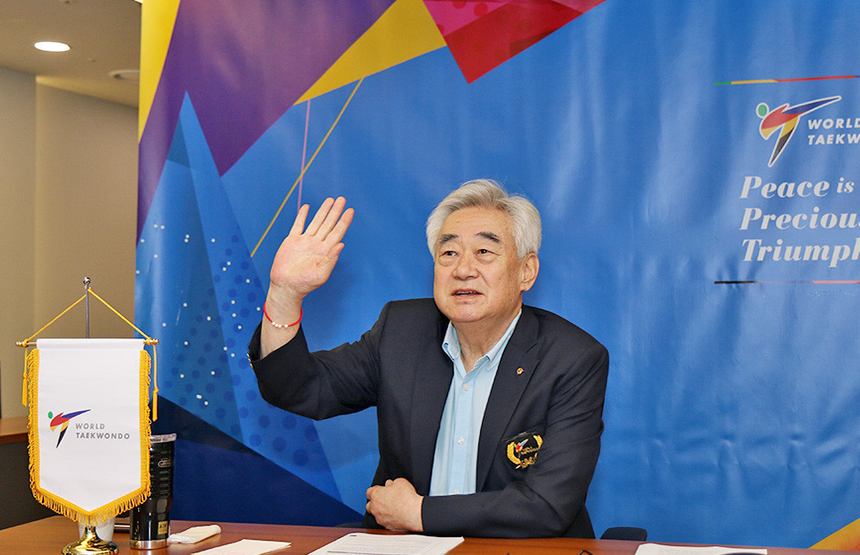 The World Taekwondo Championships in Wuxi have been postponed, but Chungwon Choue will still be able to seek re-election as President virtually ©World Taekwondo