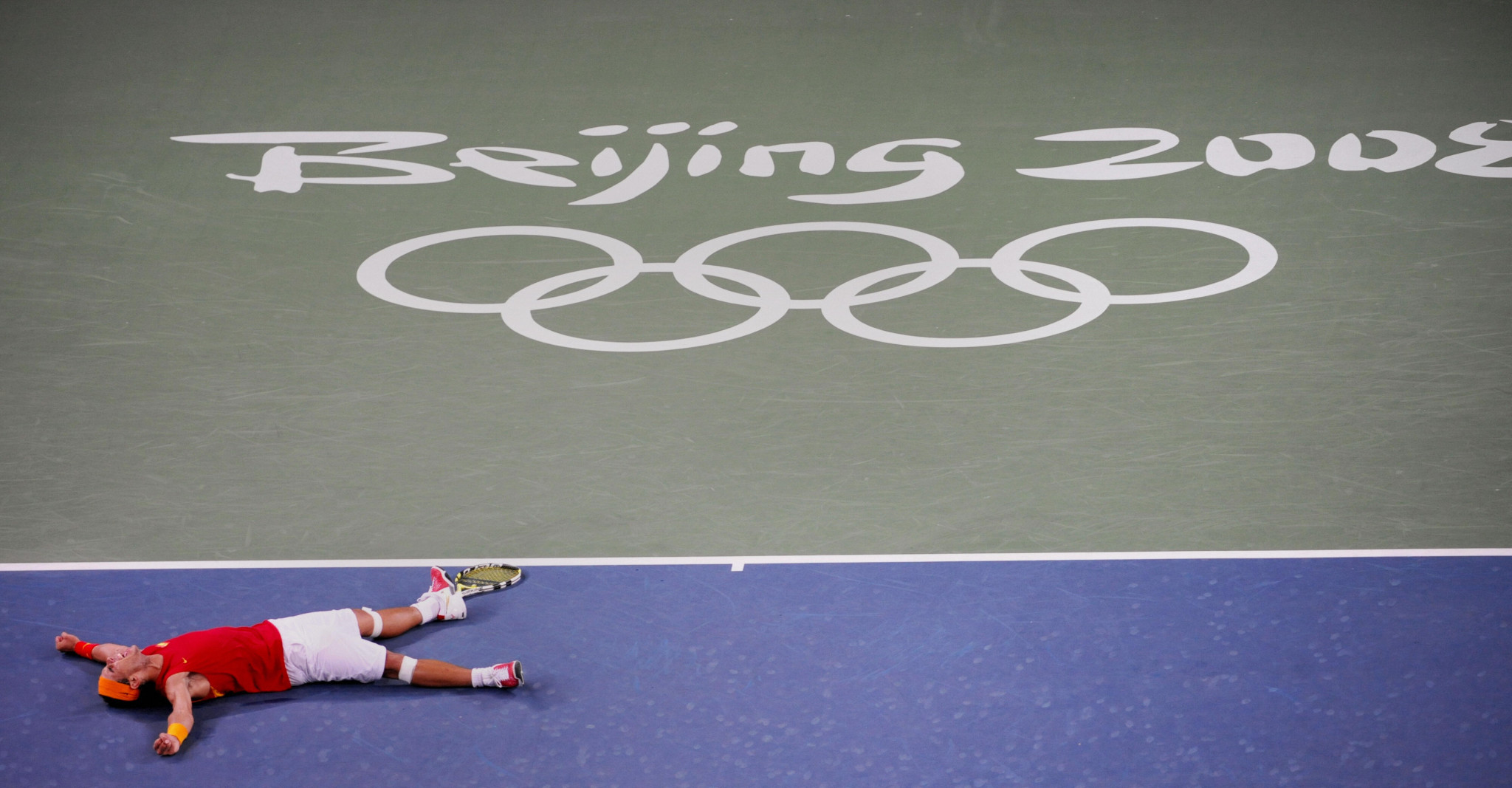 Rafael Nadal won the men's singles title at Beijing 2008 ©Getty Images