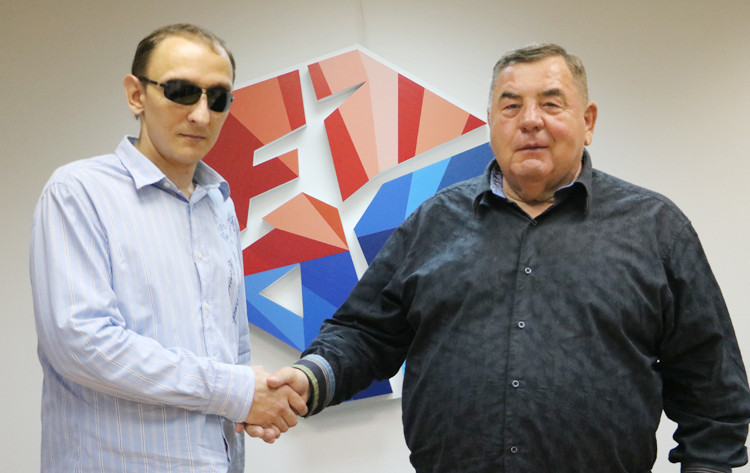 Both parties have targeted a place for sambo at the Paralympic Games ©FIAS