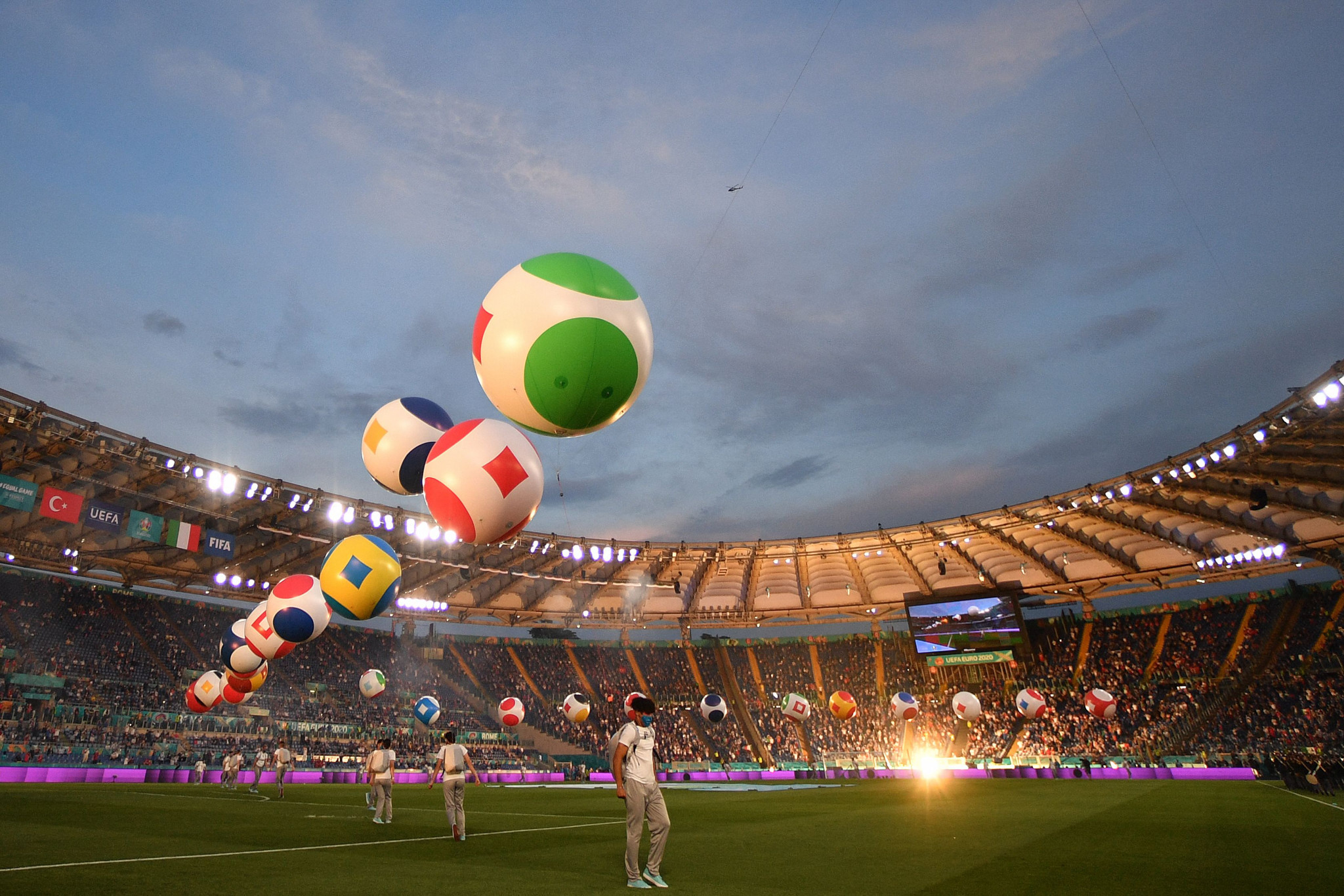 Euro 2020 is off to a good start - and that should give Tokyo 2020 confidence ©Getty Images