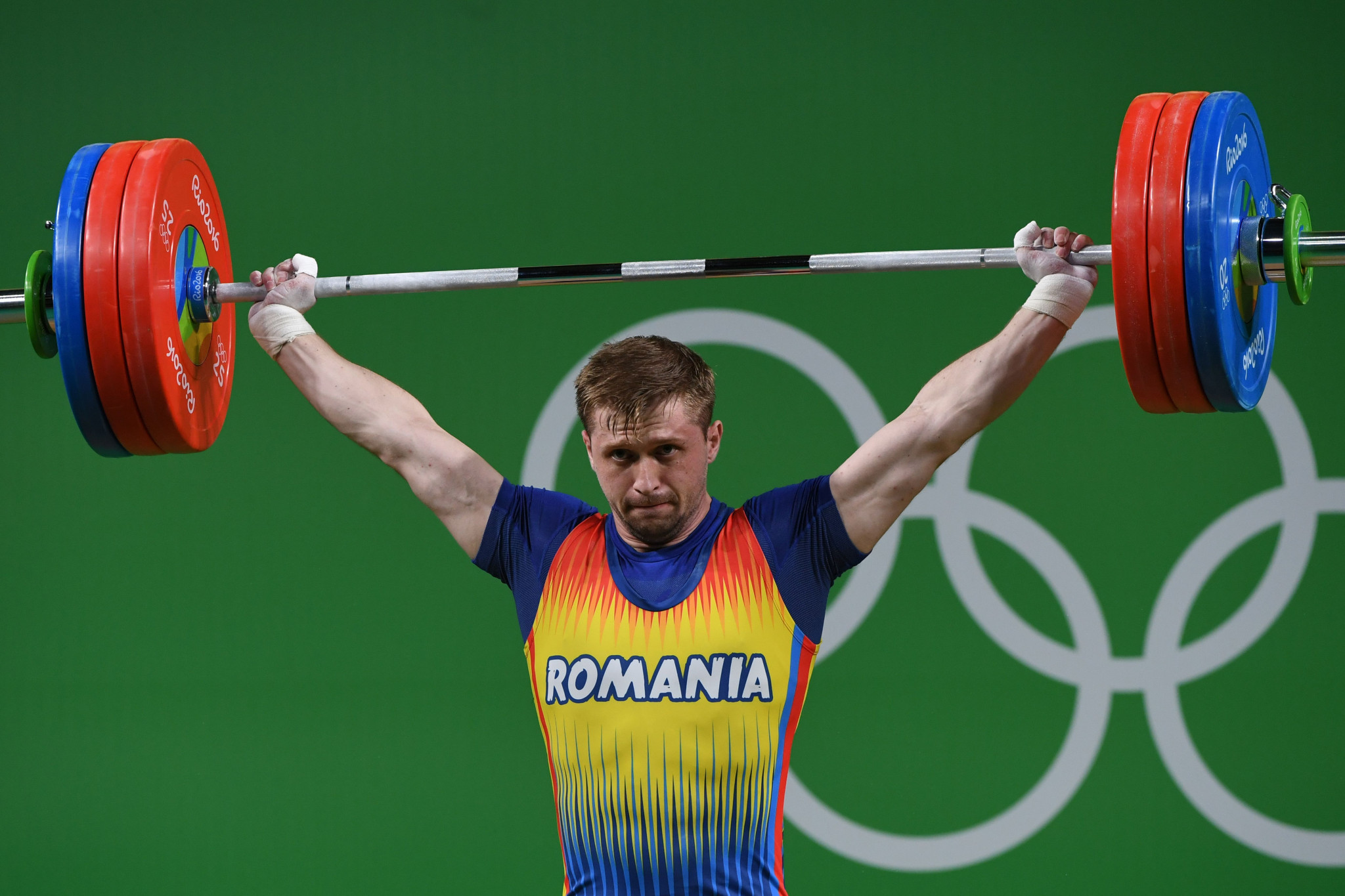 Gabriel Sincraian, who tested positive at two Olympic Games, is banned until 2027 ©Getty Images