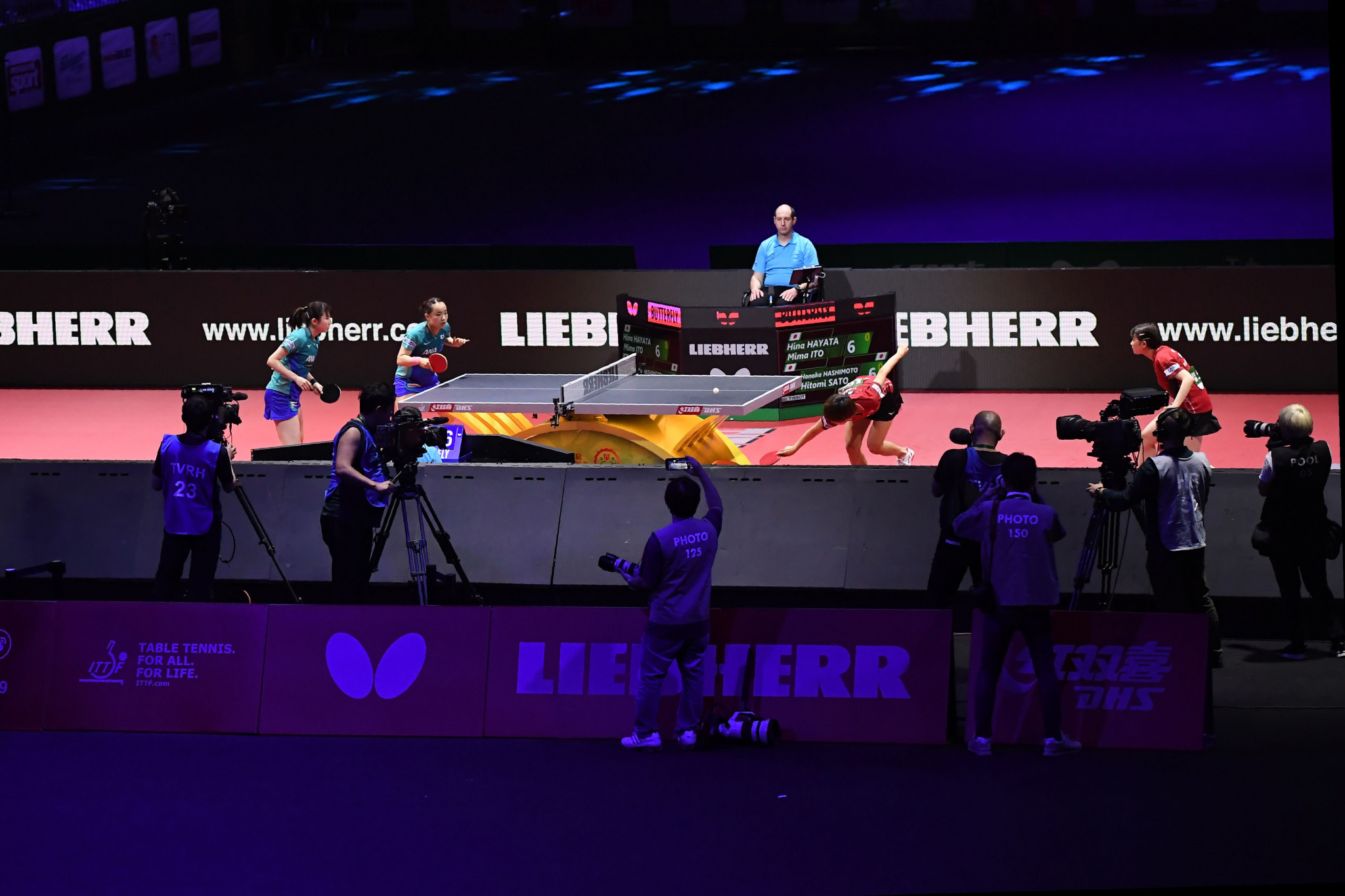 The ITTF will hold its AGM alongside the World Championships in Houston  ©Getty Images