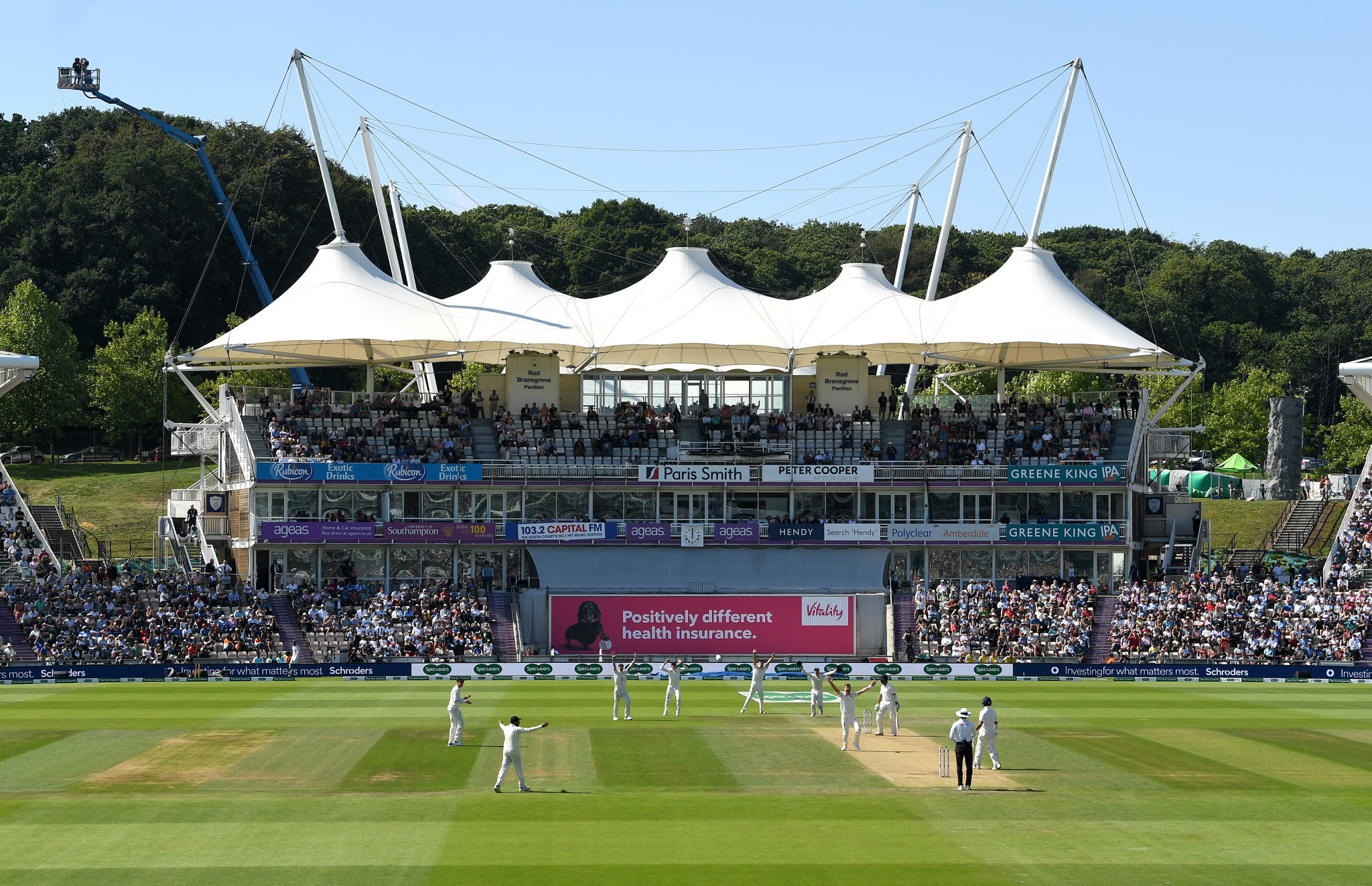 The first-ever World Test Championship final is set to start tomorrow at the Ageas Bowl in Southampton ©Getty Images