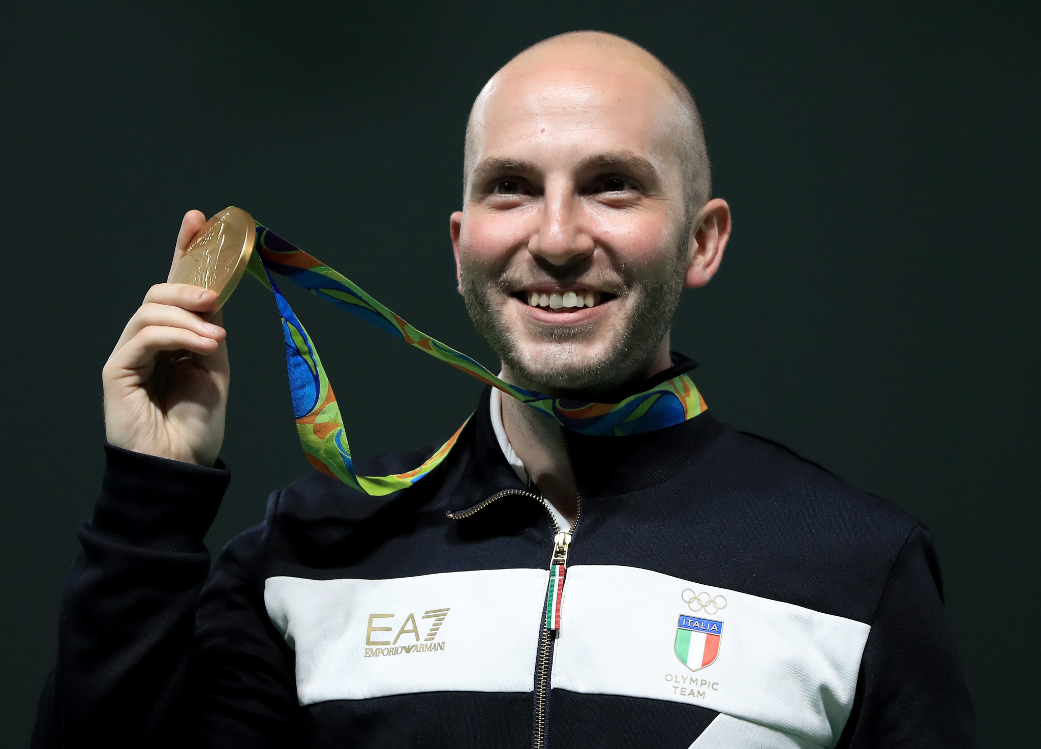Niccolo Campriani is a three-time Olympic champion ©Getty Images