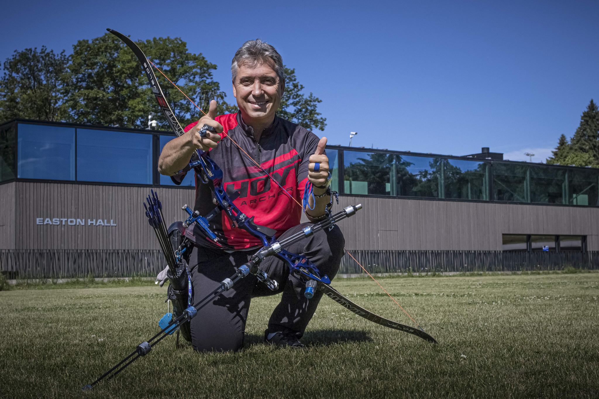 Holgado to lead Make a Mark refugee archery programme for Paris 2024