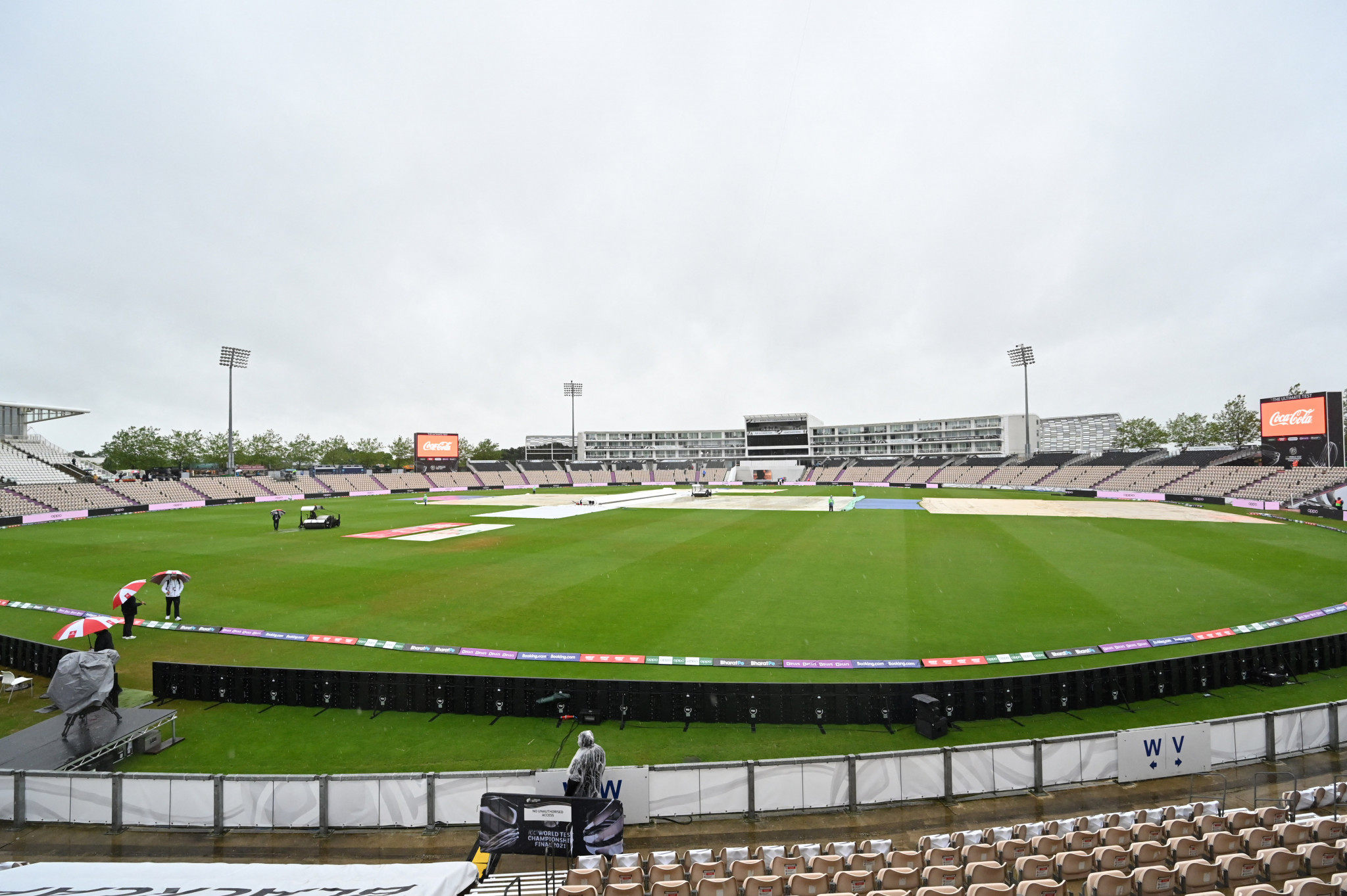 Southampton's Ageas Bowl is due to host the first World Test Championship final between New Zealand and India ©Getty Images